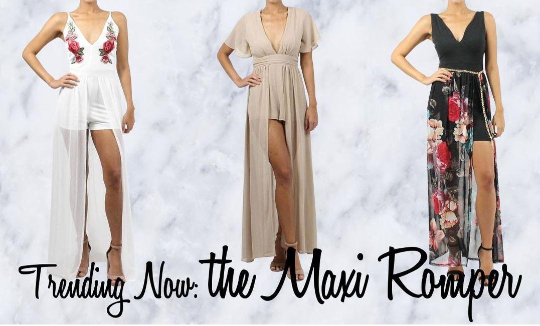 New Trend! Maxi Romper