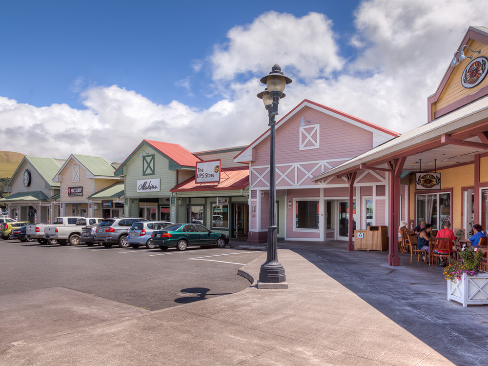 Exterior Shot of Parker Ranch Center