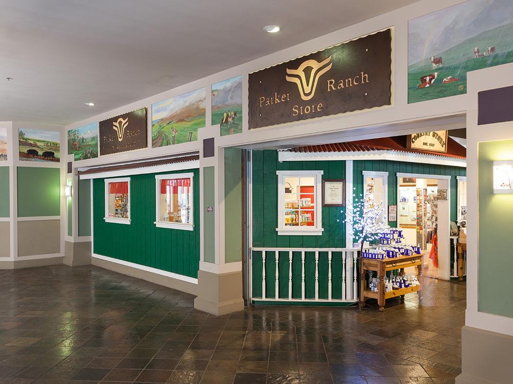 Interior of Parker Ranch Center