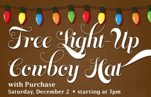 Free Light-Up Cowboy Hat