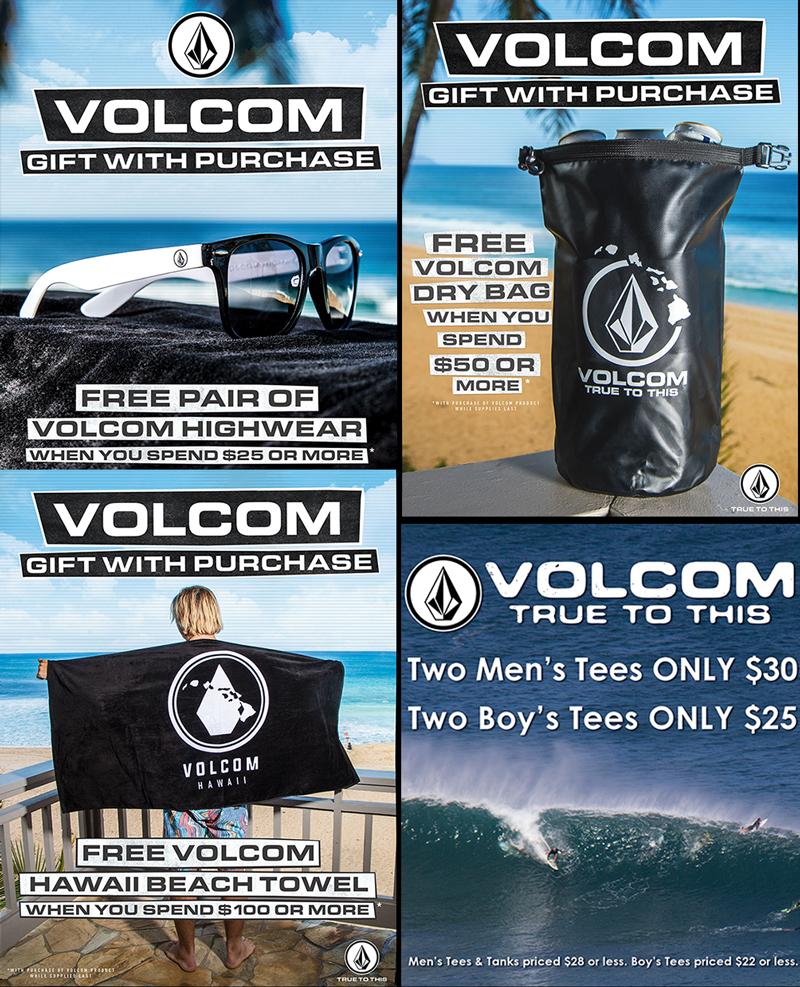 Volcom Special Offers