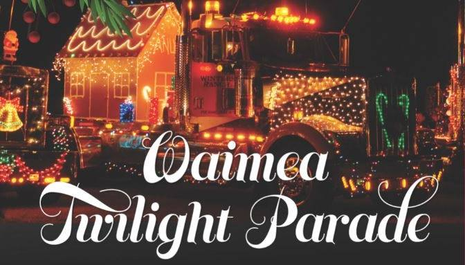 Waimea Twılight Parade