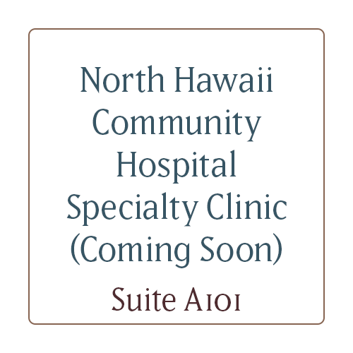 North Hawaii Community Hospital Specialty Clinic