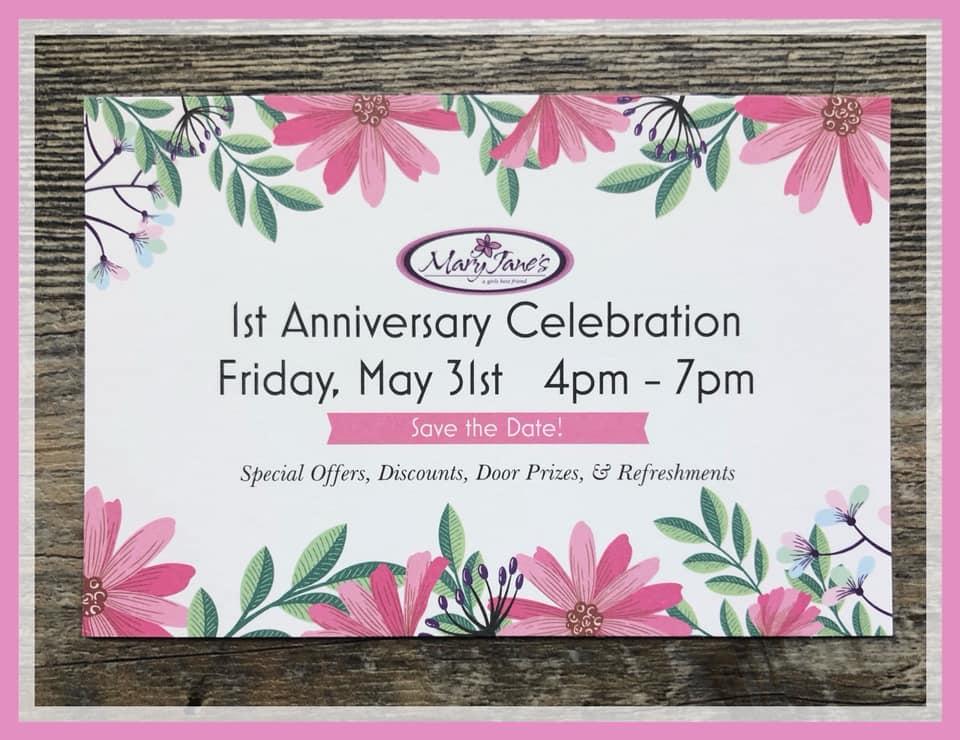 Come to Our Anniversary Celebration!