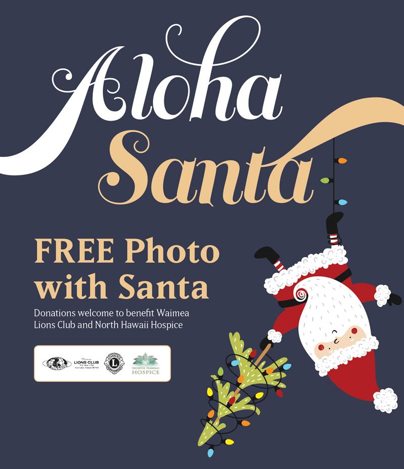 Aloha Santa!
