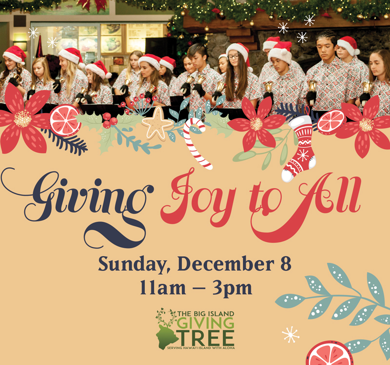 The Big Island Giving Tree — Giving Joy to All
