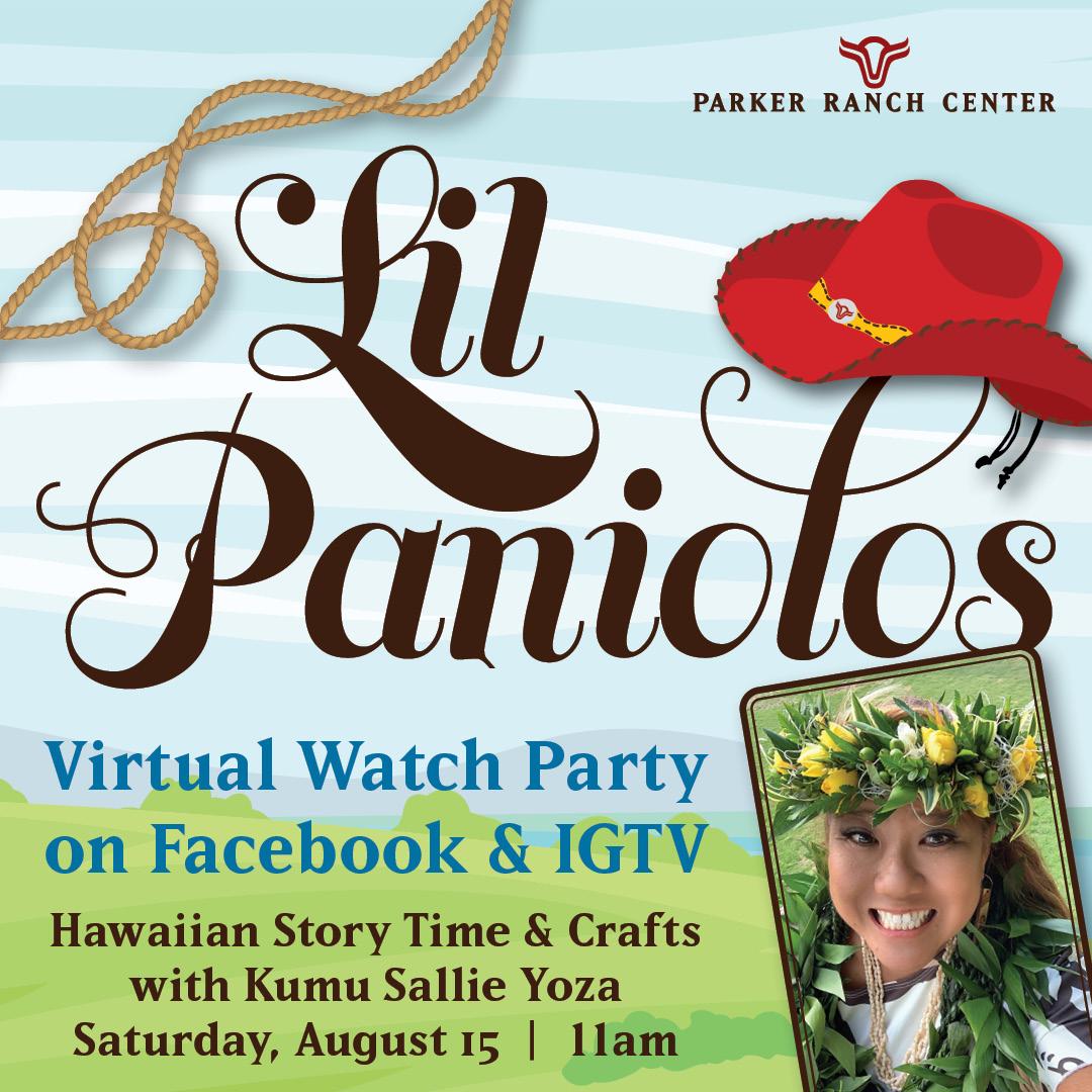 Lil Paniolos Keiki Club Virtual Watch Party
