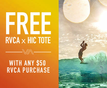 Free RVCA Gift With Purchase